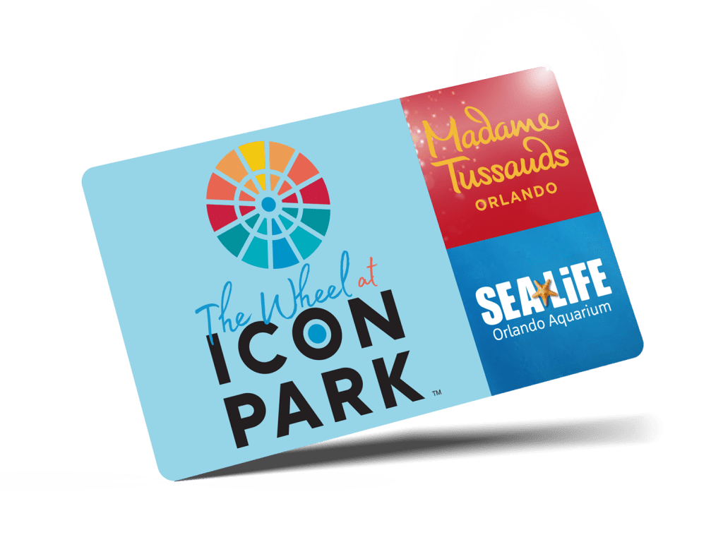 The Wheel, Madame Tussauds or SEA LIFE Aquarium Combo Ticket