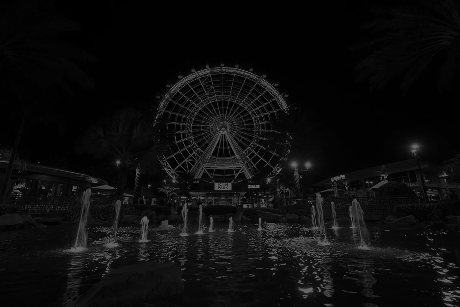 Black & White photo of The Wheel