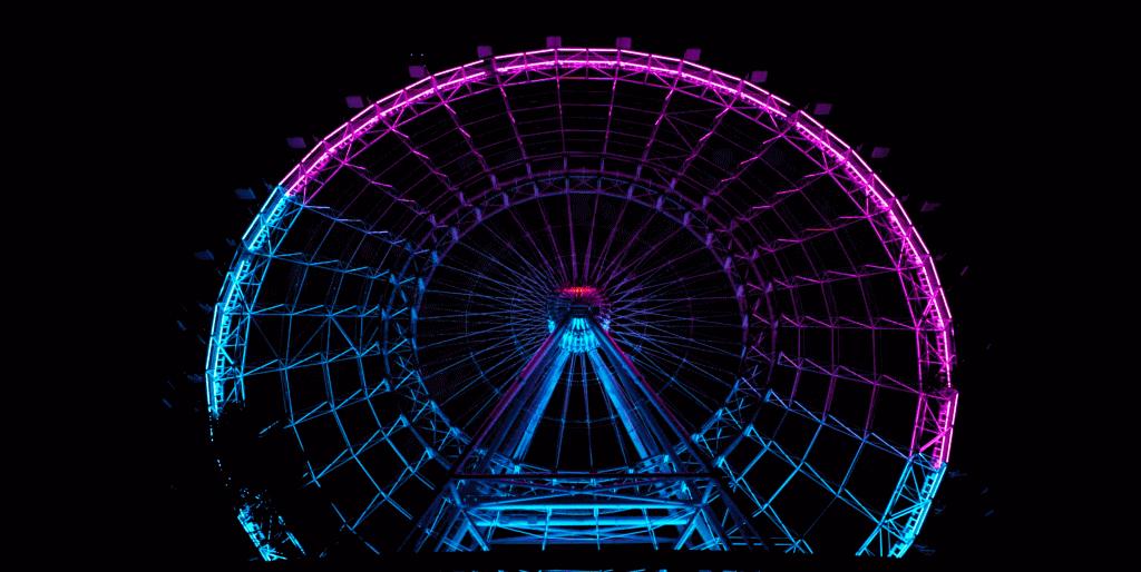 Colored Wheel