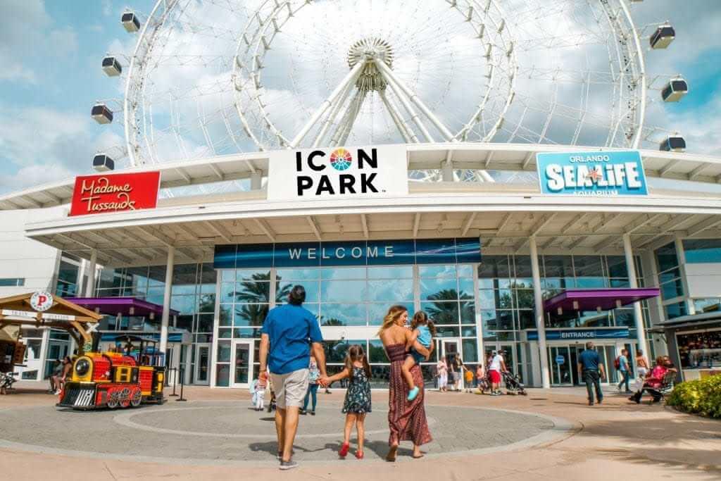 ICON Park Entrance