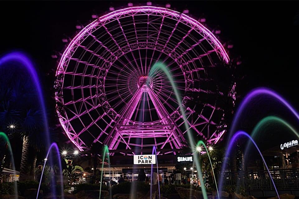 Pink Wheel