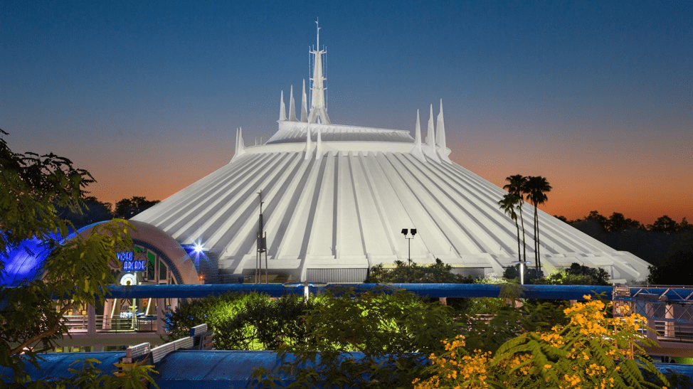 Image result for space mountain walt disney world