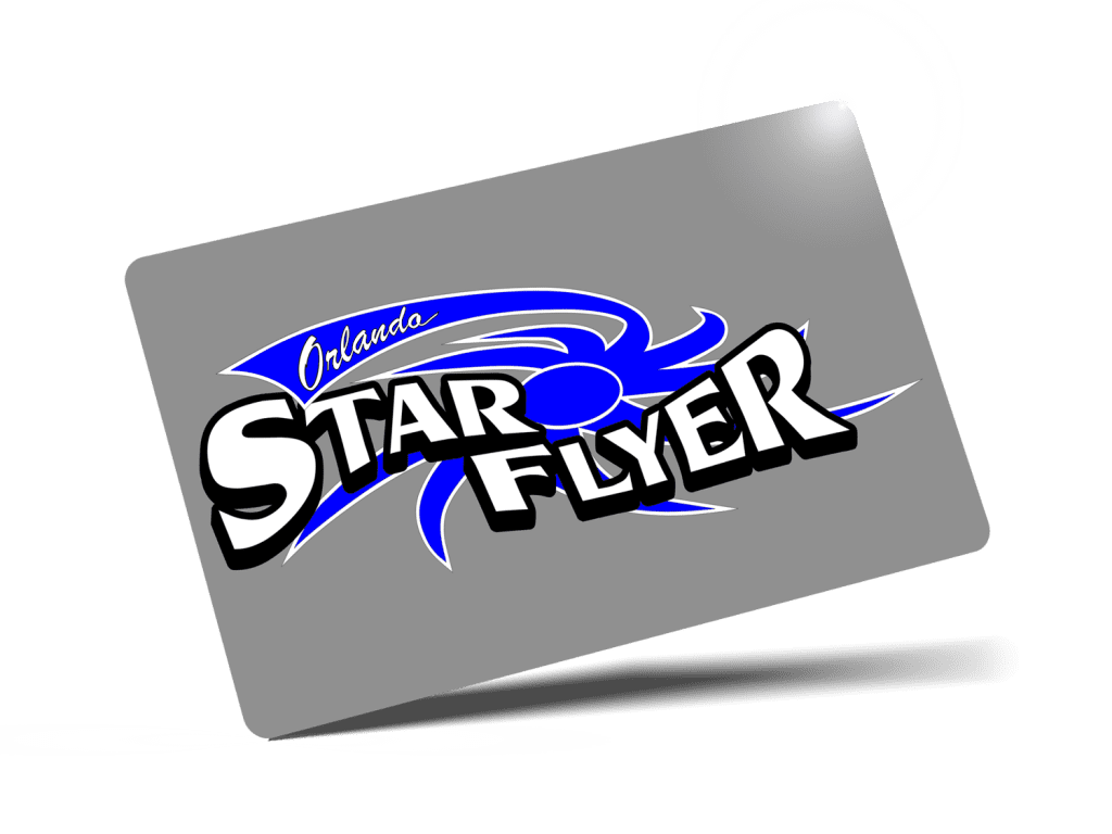 StarFlyer Orlando Ticket