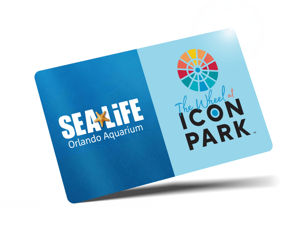The Wheel and SEA LIFE Orlando Aquarium Combo Ticket