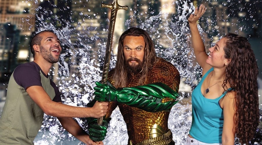 Aquaman at Madame Tussauds