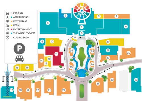 Map of ICON Park