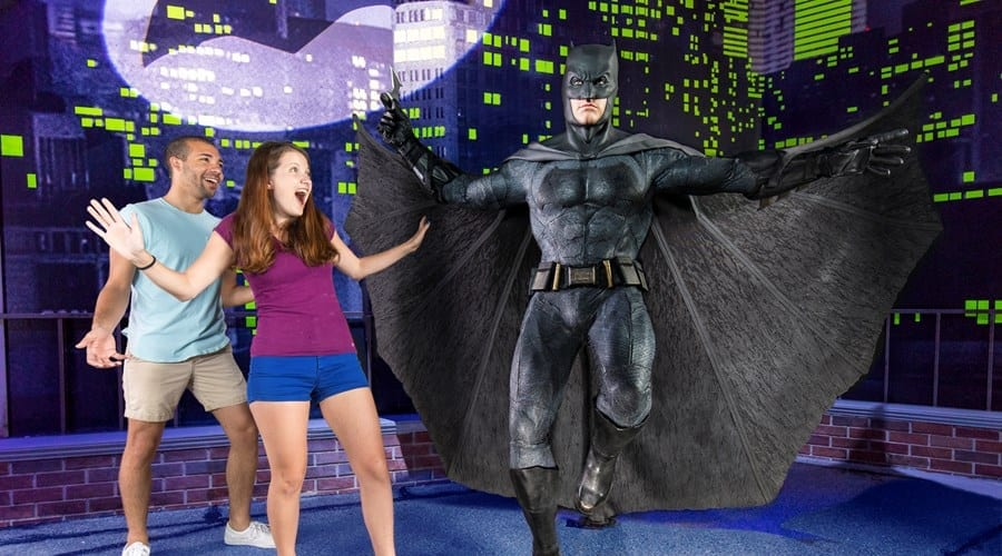 Batman at Madame Tussauds