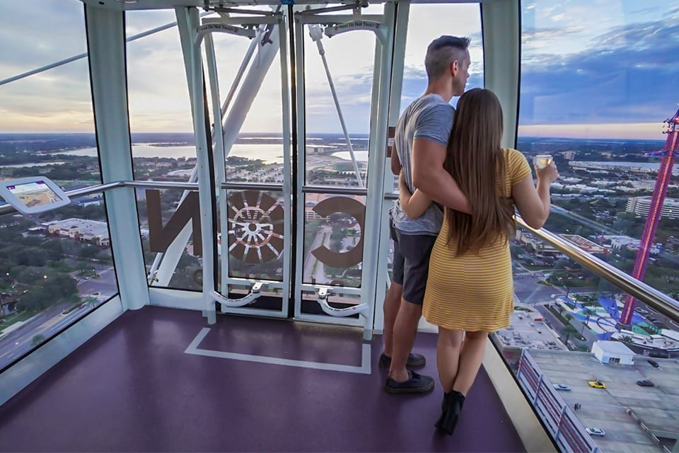 Next time you visit, bring your significant other to electrify your date night. Pro tip: surprise them with a ring at 400 feet!