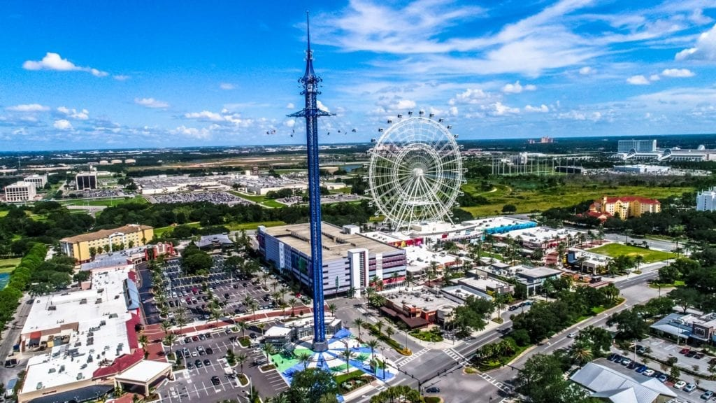 ICON Park Aerial Photo
