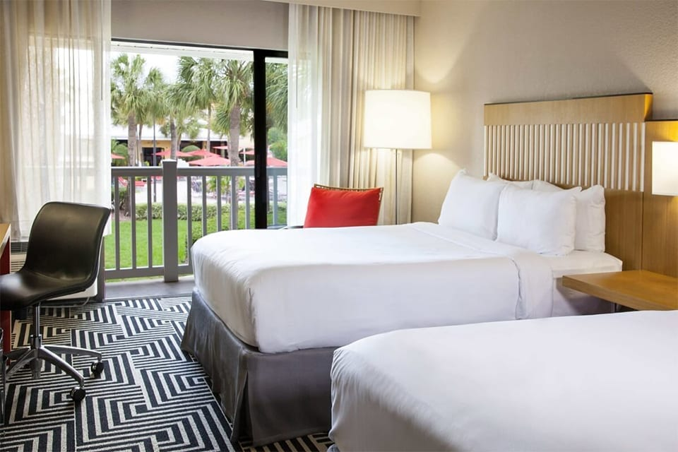 Beds in Wyndham Orlando Resort